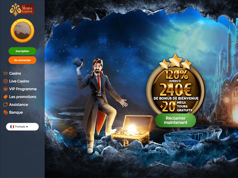 jeux disponibles casino montecryptos